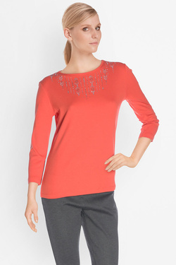 Tee-shirt manches longues DIANE LAURY 50DL2TS890 Orange