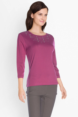 Tee-shirt manches longues DIANE LAURY 50DL2TS890 Violet