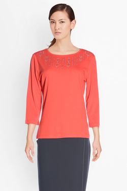 Tee-shirt manches longues DIANE LAURY 50DL2TS890 Rouge
