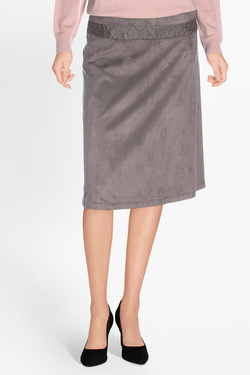 Jupe DIANE LAURY 50DL2JU200 Taupe