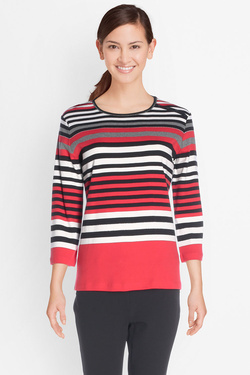 Tee-shirt manches longues DIANE LAURY 50DL2TS481 Rouge