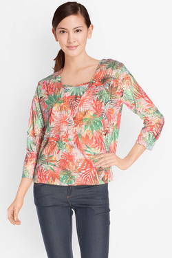 DIANE LAURY - Blouse49DL2TS700Orange