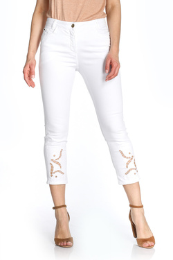 Pantalon DIANE LAURY 51DL2PS700 Blanc