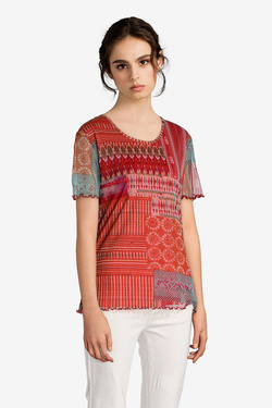 Tee-shirt DIANE LAURY 51DL2TS712 Rouge