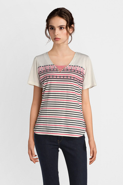 Tee-shirt DIANE LAURY 51DL2TS830 Rose