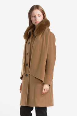 Manteau DIANE LAURY 52DL2MA908 Marron