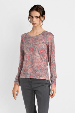 Tee-shirt manches longues DIANE LAURY 52DL2TS114 Rose