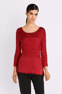 Tee-shirt manches longues DIANE LAURY 52DL2TS611 Rouge
