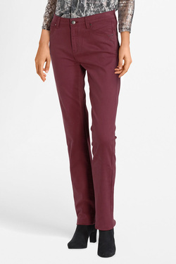 Pantalon DIANE LAURY 52DL2PS802 Rouge bordeaux
