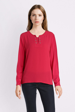 Tee-shirt manches longues DIANE LAURY 52DL2TS209 Rose fluo