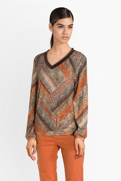 Tee-shirt manches longues DIANE LAURY 52DL2TS414 Orange
