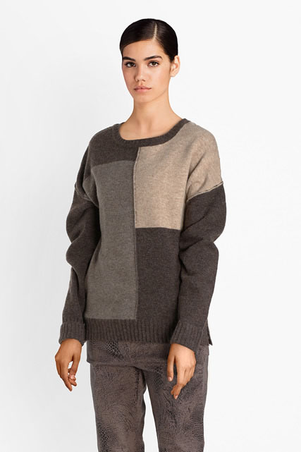 Pull toucher cachemire DIANE LAURY