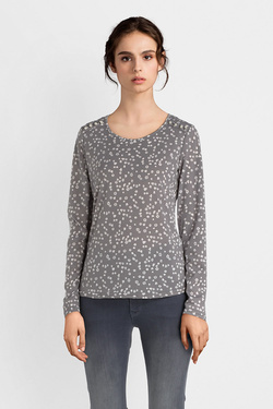 Tee-shirt manches longues DIANE LAURY 52DL2TS115 Gris