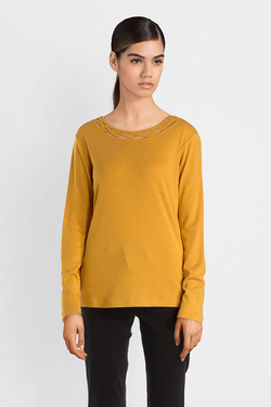 Tee-shirt manches longues DIANE LAURY 52DL2TS821 Jaune
