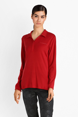 Tee-shirt manches longues DIANE LAURY 52DL2TS317 Rouge