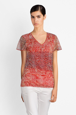 Tee-shirt DIANE LAURY 51DL2TS706 Rouge