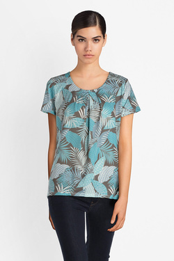 Tee-shirt DIANE LAURY 51DL2TS603 Bleu turquoise