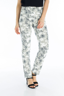 Pantalon DIANE LAURY 53DL2PS209 Ecru
