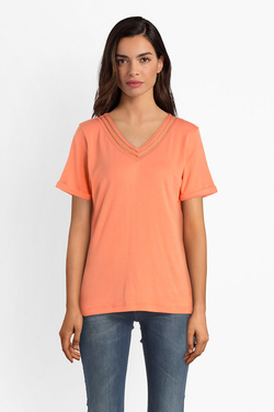 Tee-shirt DIANE LAURY 53DL2TS818 Orange