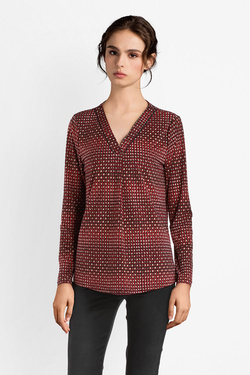 Blouse DIANE LAURY 52DL2TS645 Rouge bordeaux