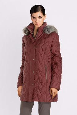 Parka DIANE LAURY 54DL2PB920 Rouge bordeaux