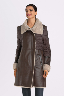 Parka DIANE LAURY 54DL2PB900 Marron