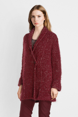 Gilet DIANE LAURY 54DL2GI501 Rouge bordeaux