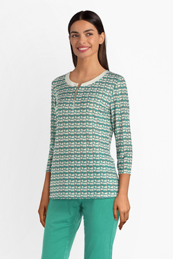 Tee-shirt manches longues DIANE LAURY 54DL2TS102 Vert