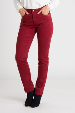 Pantalon DIANE LAURY 54DL2PS800 Rouge bordeaux