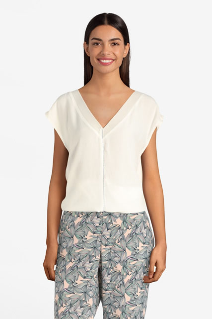 Blouse ample unie DIANE LAURY