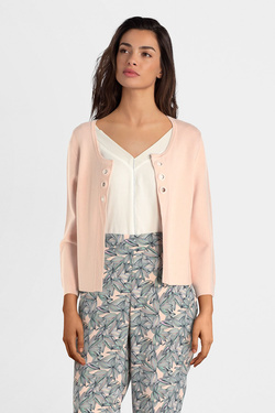 Gilet DIANE LAURY 55DL2GI200 Rose pale