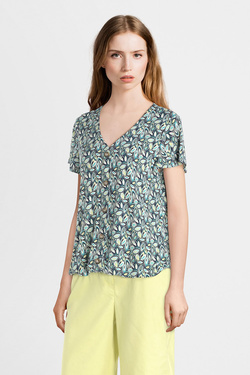Tee-shirt DIANE LAURY 55DL2TS604 Bleu turquoise