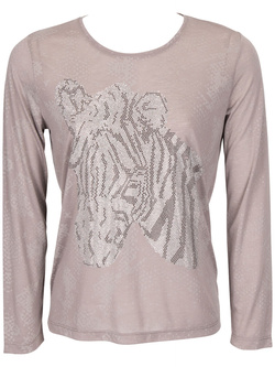 DIANE LAURY - Tee-shirt manches longues46DL2TS300Taupe