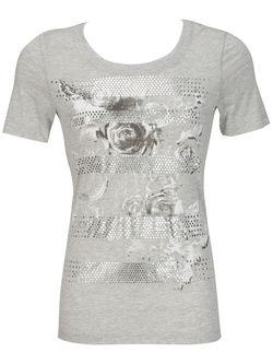DIANE LAURY - Tee-shirt47dl2ts303Gris