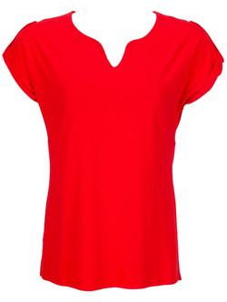 Tee-shirt DIANE LAURY 47DL2TS208 Rouge