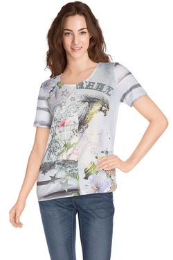 Tee-shirt DIANE LAURY 47DL2TS607 Multicolore