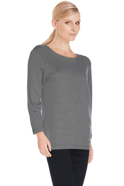 DIANE LAURY - Tee-shirt manches longues48DL2TS900Gris