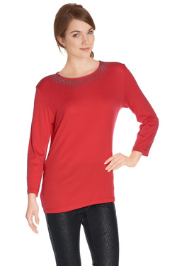 DIANE LAURY - Tee-shirt manches longues48DL2TS900Rouge