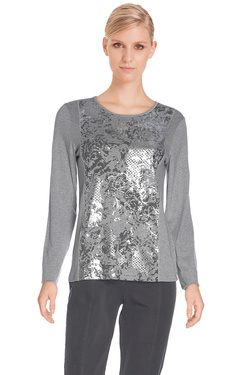 DIANE LAURY - Tee-shirt manches longues47DL2TS130Gris