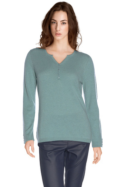 Pull DIANE LAURY 48DL2PU901 Bleu turquoise