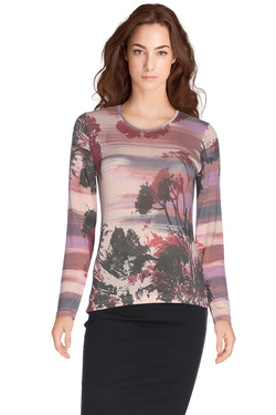 DIANE LAURY - Tee-shirt manches longues48DL2TS717Rose