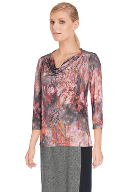 Tee-shirt manches longues DIANE LAURY 48DL2TS650 Orange