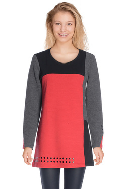 Tunique DIANE LAURY 48DL2TS602 Rouge
