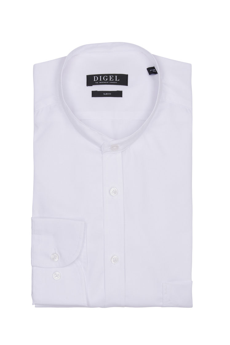 Chemise 119704680 HommeDes Longues Digel Marques Blanc Manches CQdrths
