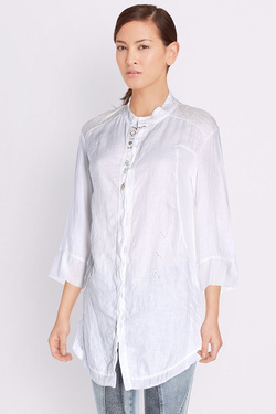 Chemise manches longues ELISA CAVALETTI ECP171003706 Blanc
