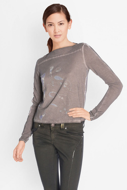 Tee-shirt manches longues ELISA CAVALETTI ELW175011804 Taupe