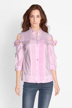 Chemise manches longues ELISA CAVALETTI ELP181021707 Rose