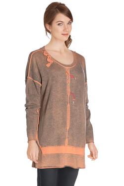Pull ELISA CAVALETTI ELW164006401 Orange