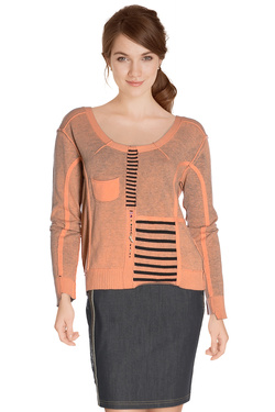 Pull ELISA CAVALETTI ELW164006403 Orange