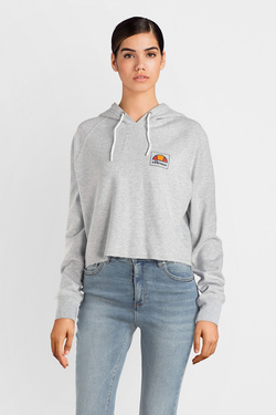 Sweat-shirt ELLESSE EH F CROPPED SWS Gris clair
